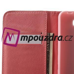Emotive peněženkové puzdro na Huawei Y5 II - kouzelní motýlci - 5