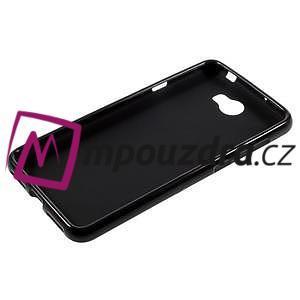 Matný gelový obal na telefon Huawei Y5 II - černý - 5