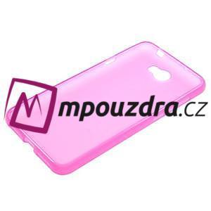 Matný gelový obal na telefon Huawei Y5 II - rose - 5