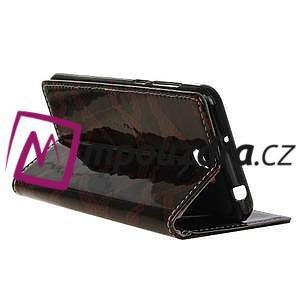 Pouzdro s hadím motivem na mobil Huawei Y5 II - červené - 5
