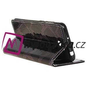 Pouzdro s hadím motivem na mobil Huawei Y5 II - fialové - 5