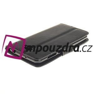 Dandelion PU kožené puzdro na Huawei Y5 II - čierne - 5