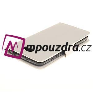Dandelion PU kožené puzdro na Huawei Y5 II - biele - 5