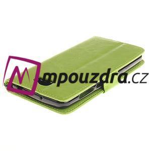 Dandelion PU kožené puzdro na Huawei Y5 II - zelené - 5