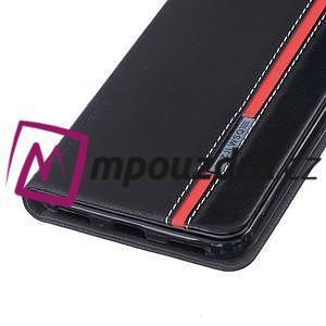 Klopové puzdro na mobil Huawei Y6 II a Honor 5A - černé - 5