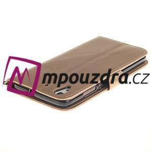 Dandelion PU kožené puzdro pre Huawei Y6 II a Honor 5A - zlaté - 5