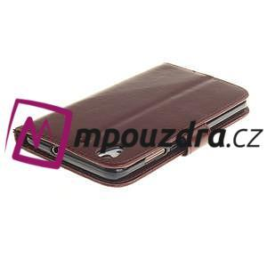 Dandelion PU kožené puzdro pre Huawei Y6 II a Honor 5A - hnedé - 5