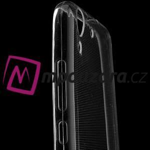 Superslim gélový obal na mobil Huawei Y6 II a Honor 5A - transparentní - 5