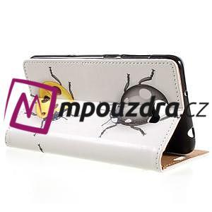 Emotive peňaženkové puzdro na Huawei Y6 II Compact - chrobáčiky - 5
