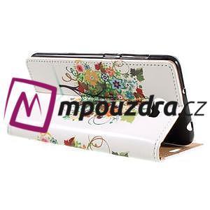 Emotive peňaženkové puzdro na Huawei Y6 II Compact - farebný strom - 5