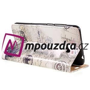 Emotive peňaženkové puzdro na Huawei Y6 II Compact - Pisa - 5