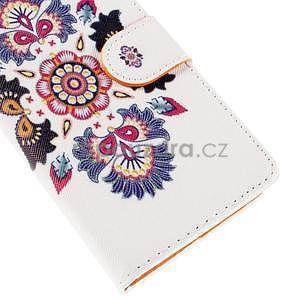 Peňaženkové puzdro na Huawei Ascend G620s - folk - 5