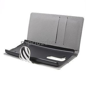 Pěněženkové puzdro na LG G4c H525n - zebra - 5