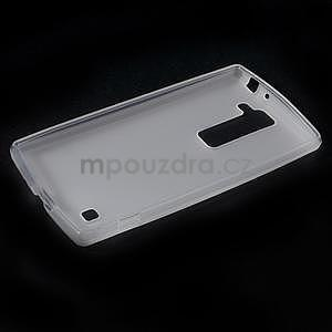 Matný gélový kryt pre LG G4c H525n - bilý - 5