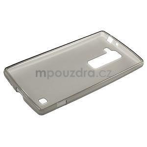 Matný gélový kryt na LG G4c H525n - šedý - 5