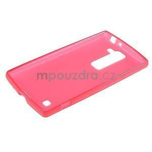 Matný gélový kryt pre LG G4c H525n - červený - 5