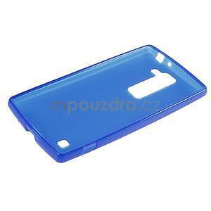Matný gélový kryt pre LG G4c H525n - modrý - 5