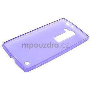 Matný gélový kryt na LG G4c H525n - fialový - 5