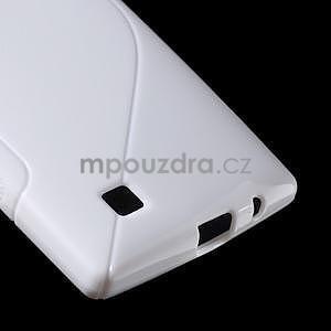 Biely gélový obal S-line na LG G4c H525n - 5
