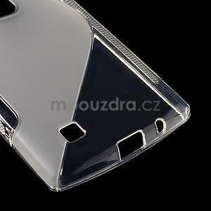 Transparentní gélový obal S-line na LG G4c H525n - 5