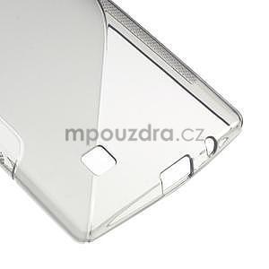 Šedý gélový obal S-line na LG G4c H525n - 5