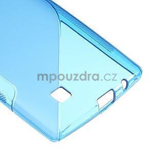 Modrý gélový obal S-line na LG G4c H525n - 5