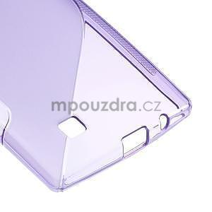 Fialový gélový obal S-line na LG G4c H525n - 5