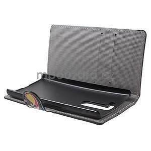 Pěněženkové puzdro na LG G4c H525n - farebné kruhy - 5
