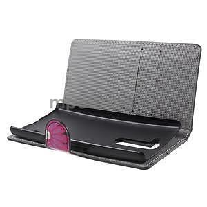 Peňaženkové puzdro pre LG G4c H525n - motýľe - 5