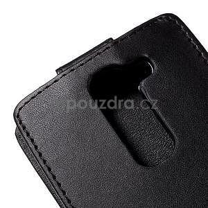 Čierné flipové puzdro pre LG G4c H525n - 5