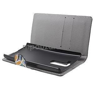 Peňaženkové puzdro pre LG G4c H525n - farebné kvetiny - 5