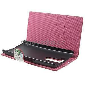 Peňaženkové puzdro pre LG G4c H525n - motýľkové - 5