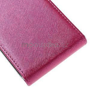 Flipové puzdro pre Samsung Galaxy J5 - rose - 5