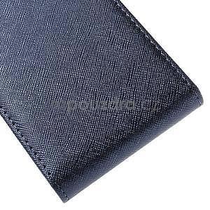 Flipové pouzdro na Samsung Galaxy J5 - tmavě modré - 5