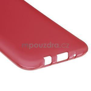Matný gélový obal Samsung Galaxy J5 - červený - 5