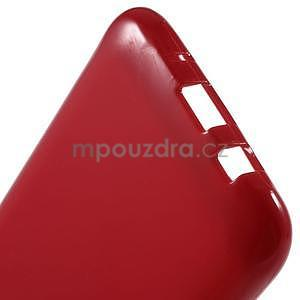 Červený gélový kryt pre Samsung Galaxy J5 - 5
