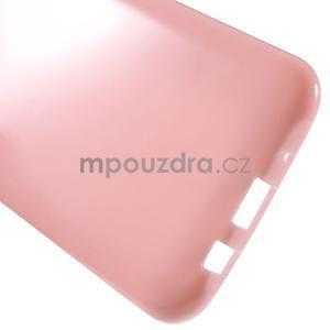 Rúžový gélový kryt pre Samsung Galaxy J5 - 5