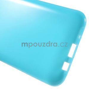 Světle modrý gélový kryt pre Samsung Galaxy J5 - 5