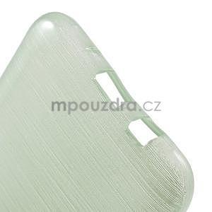 Brúsený gélový obal pre Samsung Galaxy J5 - azúrový - 5