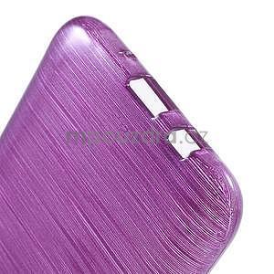 Broušený gelový obal na Samsung Galaxy J5 - fialový - 5