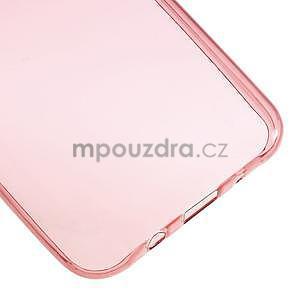 Ultra tenký slim gélový obal pro Samsung Galaxy J5 - červený - 5