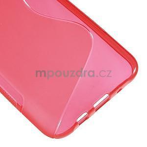 S-line gelový kryt na Samsung Galaxy J5 - červený - 5