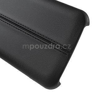 Gélový kryt se švy pre Samsung Galaxy J5 - čierný - 5