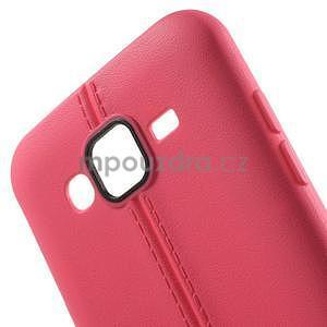 Gelový kryt se švy na Samsung Galaxy J5 - rose - 5