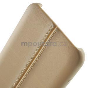 Gelový kryt se švy na Samsung Galaxy J5 - champagne - 5