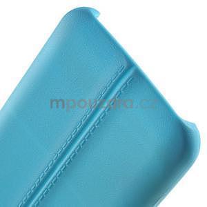 Gelový kryt se švy na Samsung Galaxy J5 - světle modrý - 5
