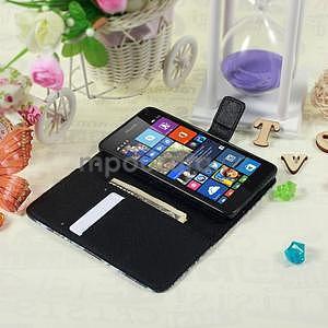 Safety puzdro pre mobil Microsoft Lumia 535 - modrý motýľ - 5