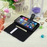 Safety puzdro pre mobil Microsoft Lumia 535 - modrý motýľ - 5/5