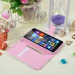 Safety puzdro pre mobil Microsoft Lumia 535 - kvetinová koláž - 5/5