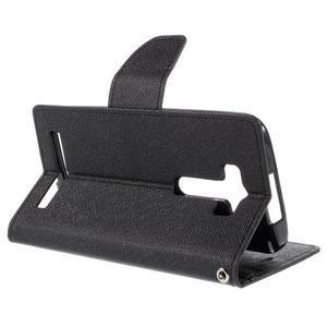 Diary štýlové puzdro na Asus Zenfone 2 Laser - čierne - 5
